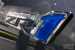 2009 Chevrolet Corvette ZR1 Logo/Badge