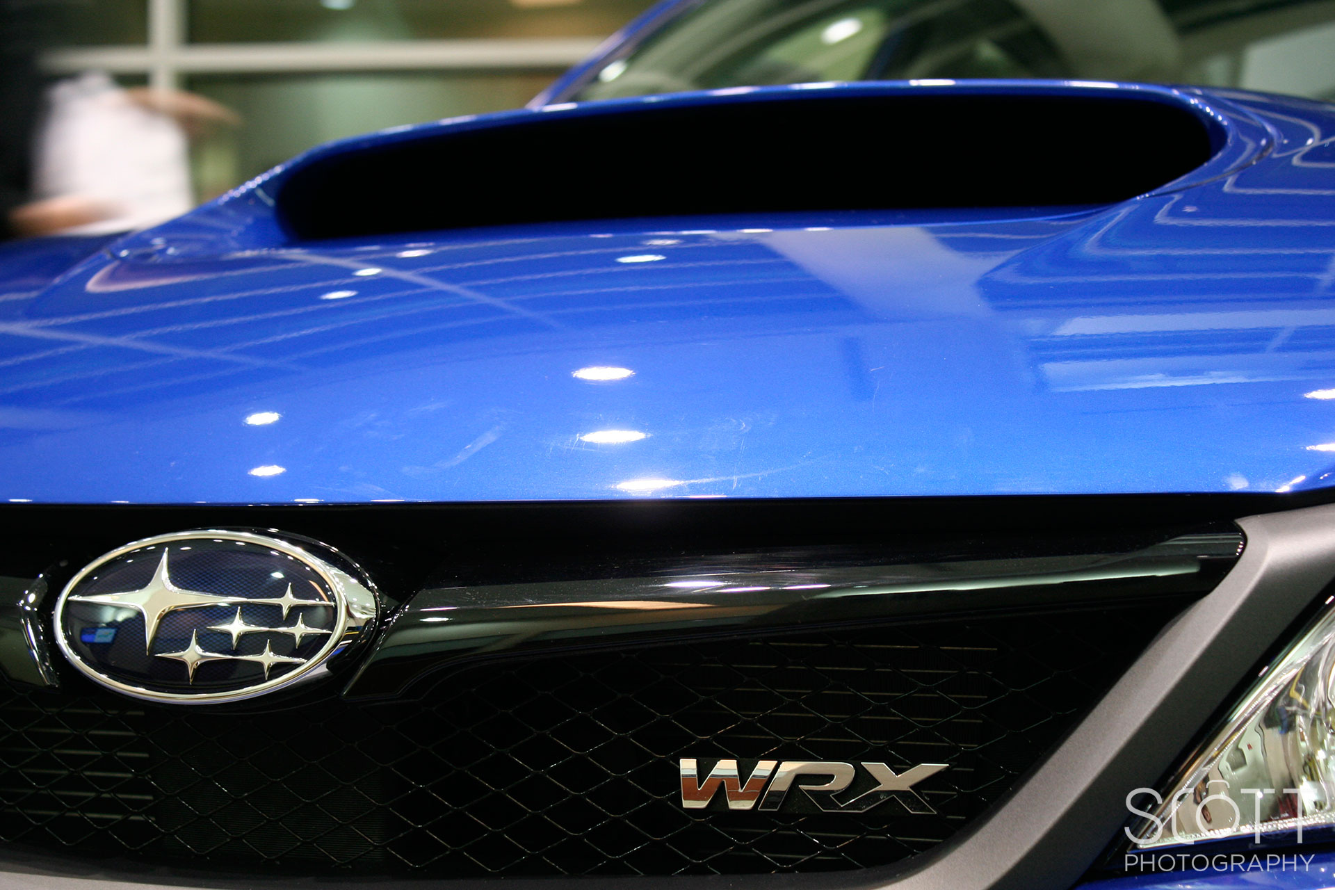 2014 Subaru Wrx Logo Badge Scott Sousa Photography
