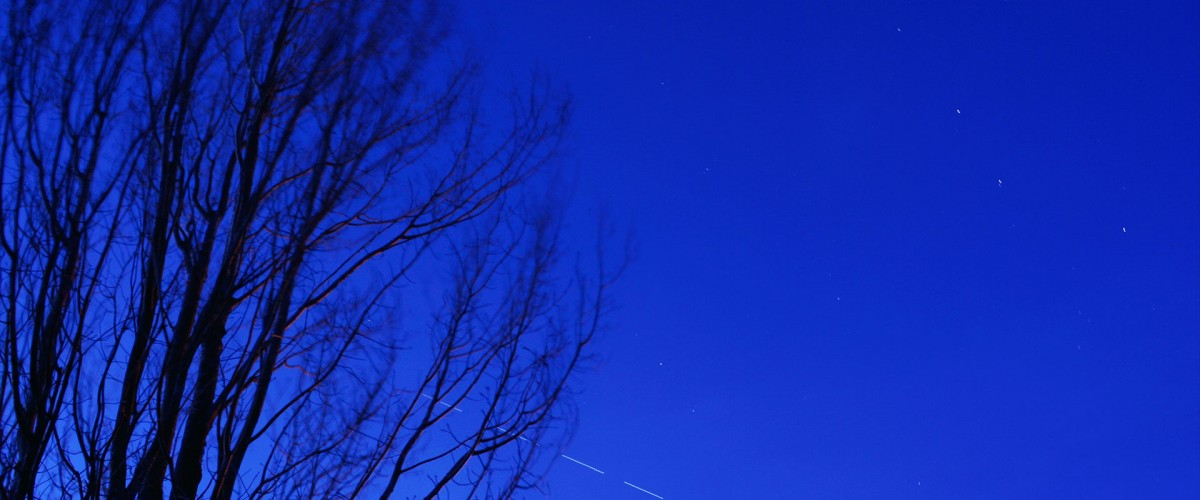 International Space Station (ISS) & The Big Dipper (Ursa Major)