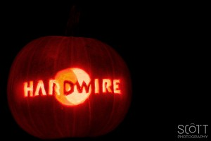 Hardwire Pumpkin Carving
