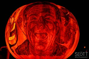 Robin Williams Pumpkin Carving - Jack-O-Lantern Spectacular - Roger Williams Park Zoo - 2014